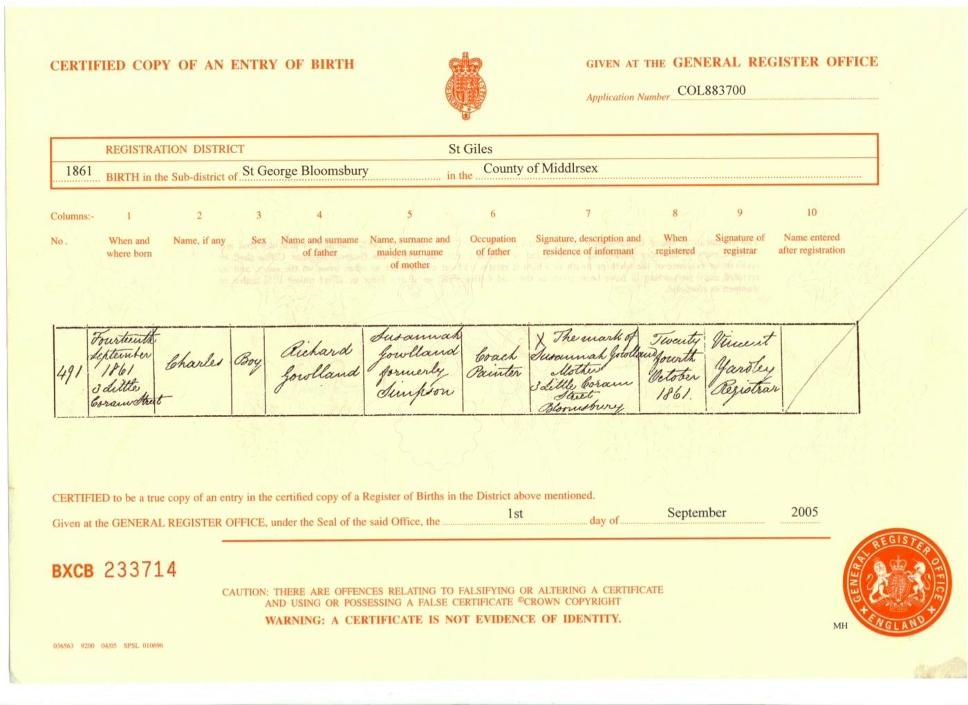 Index of birth certificates b18610914 xflitez Image collections