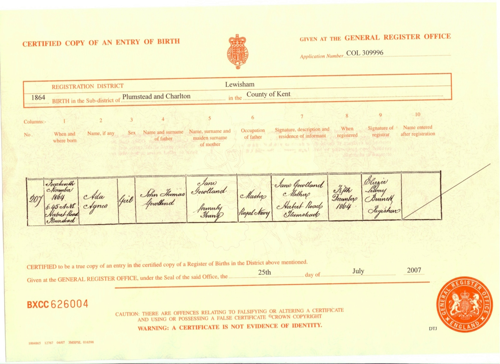 Index of birth certificates b18641114a aiddatafo Image collections