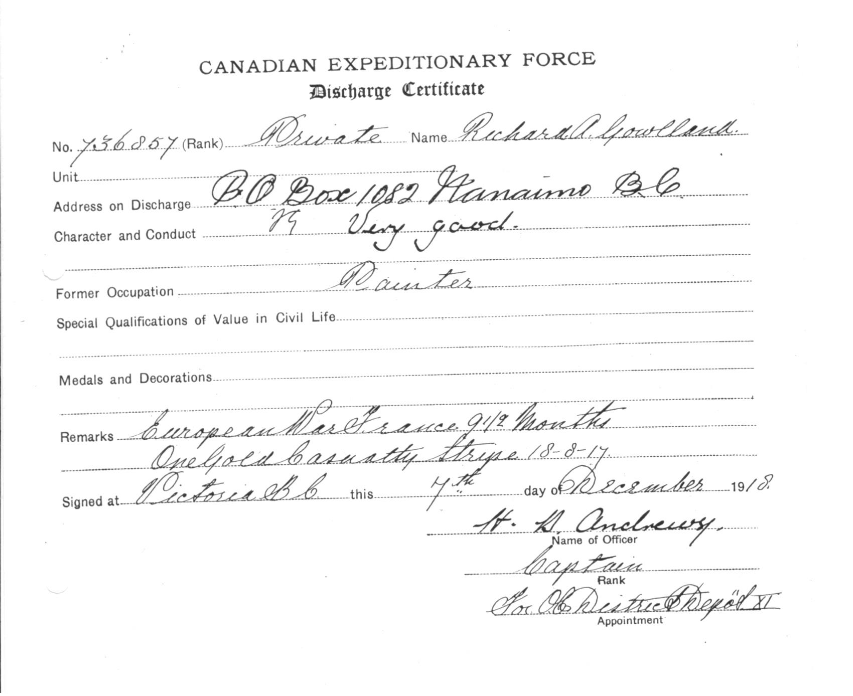 Hospital Discharge Certificate Vaydileforic